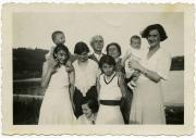 Family photo in Gavirate, 1931.
