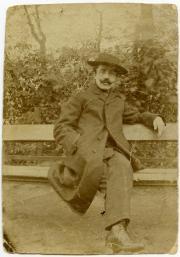 In Berlin in 1900.